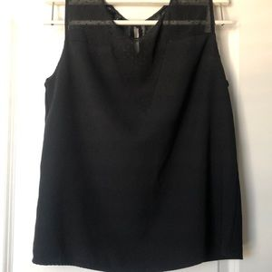 Tops - Classic with an edge, black blouse
